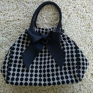 Talbots Polka dots little purse